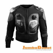 Racing Motorcycle Full Body Armor Shirt Jacket Motocross Shoulder Protector Gear