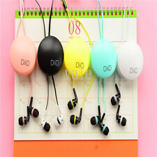 Wire Organizer Tidy Winder Cable Cord Wrapped Earphone Headset For Phone Lot