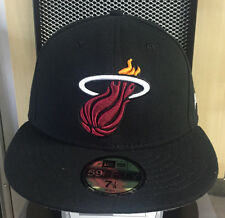 New Era 5950 59Fifty Miami Heat Fitted Cap Various Sizes