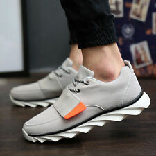 Mens Breathable Lace Up Casual Leisure Sport Canvas Driving Sneakers Shoes TT64