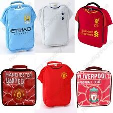 FOOTBALL TEAM LUNCH BAGS KIDS SCHOOL LUNCH PICNIC VARIOUS TEAMS 100% OFFICIAL