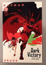 BATMAN Dark Victory - Peace #13 (of 13) - DC TPB Trade Paper Back - Good Cond **