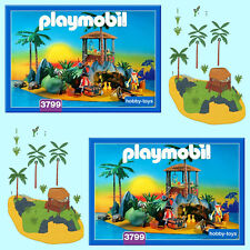* Playmobil PIRATE ISLAND 3799 * Spares * Pick-A-Part * Max P&P £2.99 Per Order