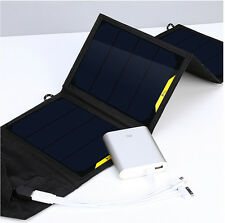 Solar  6W 7W 8W 10W 12W 14W 16W Portable Folding solar kit charges bag For Phone