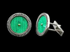 Sterling Silver Baggins Cufflinks Lord of the Rings