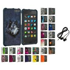 For Amazon Fire Phone Hard Design Skin Case Cover Accessories Headphones