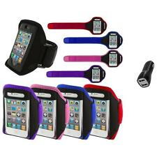 Color Running Sports Gym ArmBand+2.1A Charger for iPhone 4 4G 4S 3GS S 3G 2G