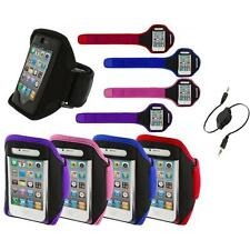 Color Running Sports Gym ArmBand+Aux Cable for iPhone 4 4G 4S 3GS S 3G 2G