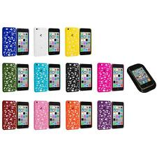 For Apple iPhone 5C Color Birds Nest Slim Hard Snap-On Case Cover+Sticky Pad
