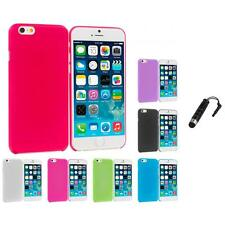 For Apple iPhone 6 (4.7) Flexible Hard Ultra Thin Back Cover Case Stylus Plug
