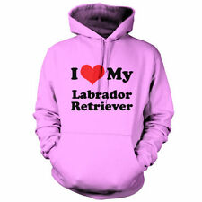 I Love My Labrador Retriever - Unisex Hoodie / Hooded top - Dog - Puppy