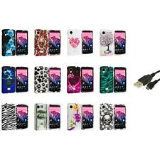 For LG Google Nexus 5 Design Hard Snap-On Case Cover Accessory+USB Cable