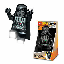Lego Star Wars LED Lite Torch Darth Vader Stormtrooper Mini Figure Light Lamp