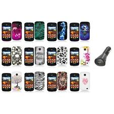 For Samsung Proclaim S720C Illusion Color Hard Design Case Cover+Car Charger