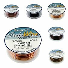 6 Colors BeadSmith Copper Craft Wire