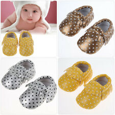 0-30M Fashion Moccasins Soft Sole Child Kid Boy Girl Toddler Baby Tassel Shoes