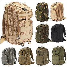 Outdoor Military Tactical Hiking Camping Camo Bag Trekking Rucksack Backpack Hot