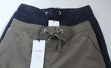 Ladies M&S Classic Sizes 8-24 S/M/L Soft Cotton Casual Trousers Bnwt Free Post