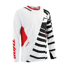 THOR Motocross Jersey 2015 CORE ORBIT schwarz- red Motocross Enduro Cross MTB