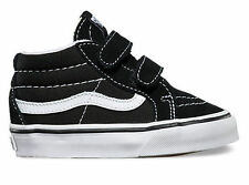 VANS TODDLER SHOES SK8-MID RESISSUE V BLACK TRUE WHITE AUSTRALIAN SELLER