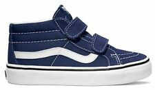 VANS TODDLER SHOES SK8-MID RESISSUE V PATRIOT BLUE TRUE WHITE AUSTRALIAN SELLER