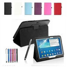 """New Smart Leather Stand Case Cover For Samsung Galaxy Tab 3 10.1"""" P5200 P5210"""