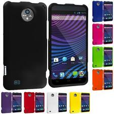 For ZTE Sprint Vital N9810 Color Hard Snap-On Rubberized Case Cover Accessory