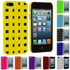 Color Hard Snap-On Design Rubberized Case Skin Cover for Apple iPhone 5 5G 5S