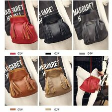 New Womens Faux Leather Fashion Messenger Handbag Lady Shoulder Bag Totes Purse