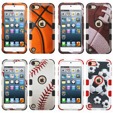 Sports Collection Hybrid Defender Series Cover Case for Apple iPod Touch 5 6 Gen