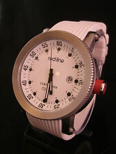 Red Line Compressor RL-18000-02-WHT-ST Stainless Large 45mm White Silicone