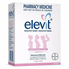 ツ ELEVIT WITH IODINE BABY PREGNANCY CONCEPTION 100 TABLETS  CHOOSE YOUR QUANTITY