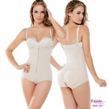 FAJATE BODY SHAPER TERMICO SLIMMING THERMAL STRAPLESS OPEN CROTCH BRIDE PROM 292