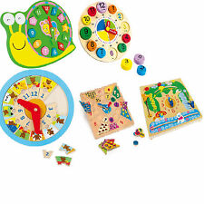 training clocks kids children learn to tell the time learn english educational