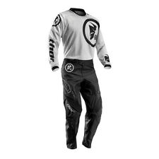 THOR Motocross trousers + Jersey 2016 - Phase Gasket - SchwarzGrey