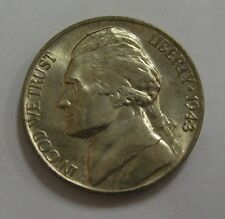 Uncirculated 1943-P Silver WWII Jefferson Nickel Grading Gem BU Full Steps  H386