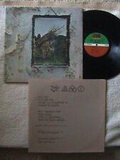"LED ZEPPELIN ""IV OR ZOSO"" LP 1971 STAIRWAY TO HEAVEN BLACK DOG ROCK N ROLL"