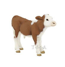 FREE SHIPPING | Papo 51134 Simmental Calf Farm Animal Figurine - New in Package