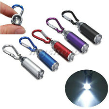 Ultra Bright LED Camping Flashlight Mini Torch Lamp Light Keychain Keyring