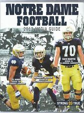 2013 Notre Dame Fighting Irish Football Media Guide Yearbook