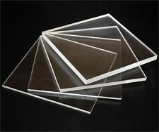 Anti Glare Photo Frame Replacement Clear Acrylic/Perspex  3mm thick,