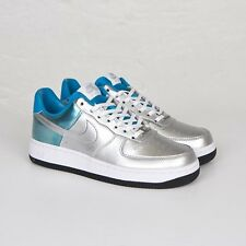 WMNS Nike Air Force 1 07 PRM QS Metallic Silver 704517-001 Size 5-11 LIMITED