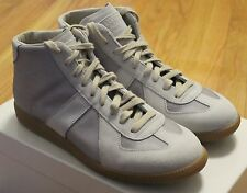 Maison Martin Margiela Suede Combo Gray GAT Sneakers Size 41 / 8 Brand New