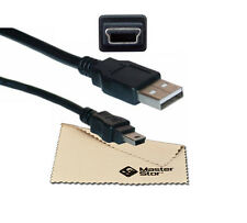 USB 2.0 Male A to B Mini 5 Pin Cable Lead 1METRE for MP4 GPS PSP PC Camera
