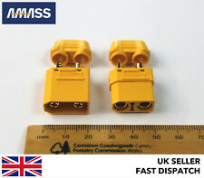 *GENUINE AMASS XT90 & INSULATED CAPS*  Male & Female Connectors/Plugs/Socket RC