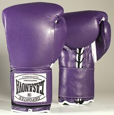 Original Deportes Casanova Sparring/Training Boxing Gloves w/VELCRO - Purple
