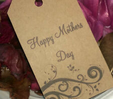MOTHERS DAY GIFT TAGS, PRINTED ON RECYCLED CARD, GREAT FOR SWEET SELLERS/CRAFTER