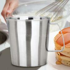 Professional Stainless Steel Milk Frothing Pitcher Coffee Jug Cup Kitchen Z7J4