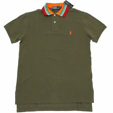 10103 polo verde RALPH LAUREN uomo t-shirt men