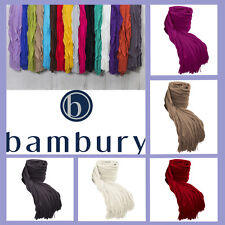Cambridge Ruffle Knitted Ripple Throw Rug Blanket by Bambury | Home Decor